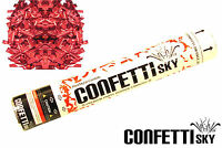 30cm Confetti Sky Red Mylar Wedding Cannon Birthday Party Popper Favor 12 Pcs
