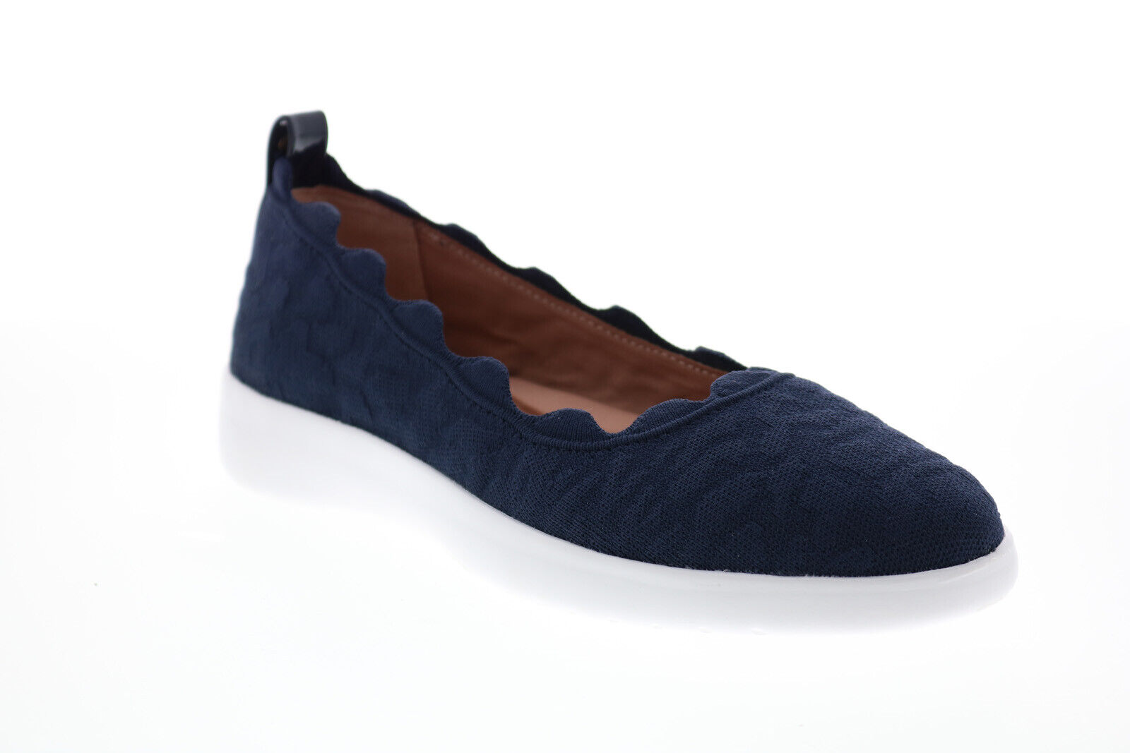 Taryn Rose Tricia 34TR1290-MNM Womens Blue Canvas Lifestyle Sneakers Shoes