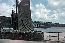 Farb Dia-AGFACOLOR-2.WK-Douarnenez-Bretagne-Finistère-Quimper-Atlantikküste-5