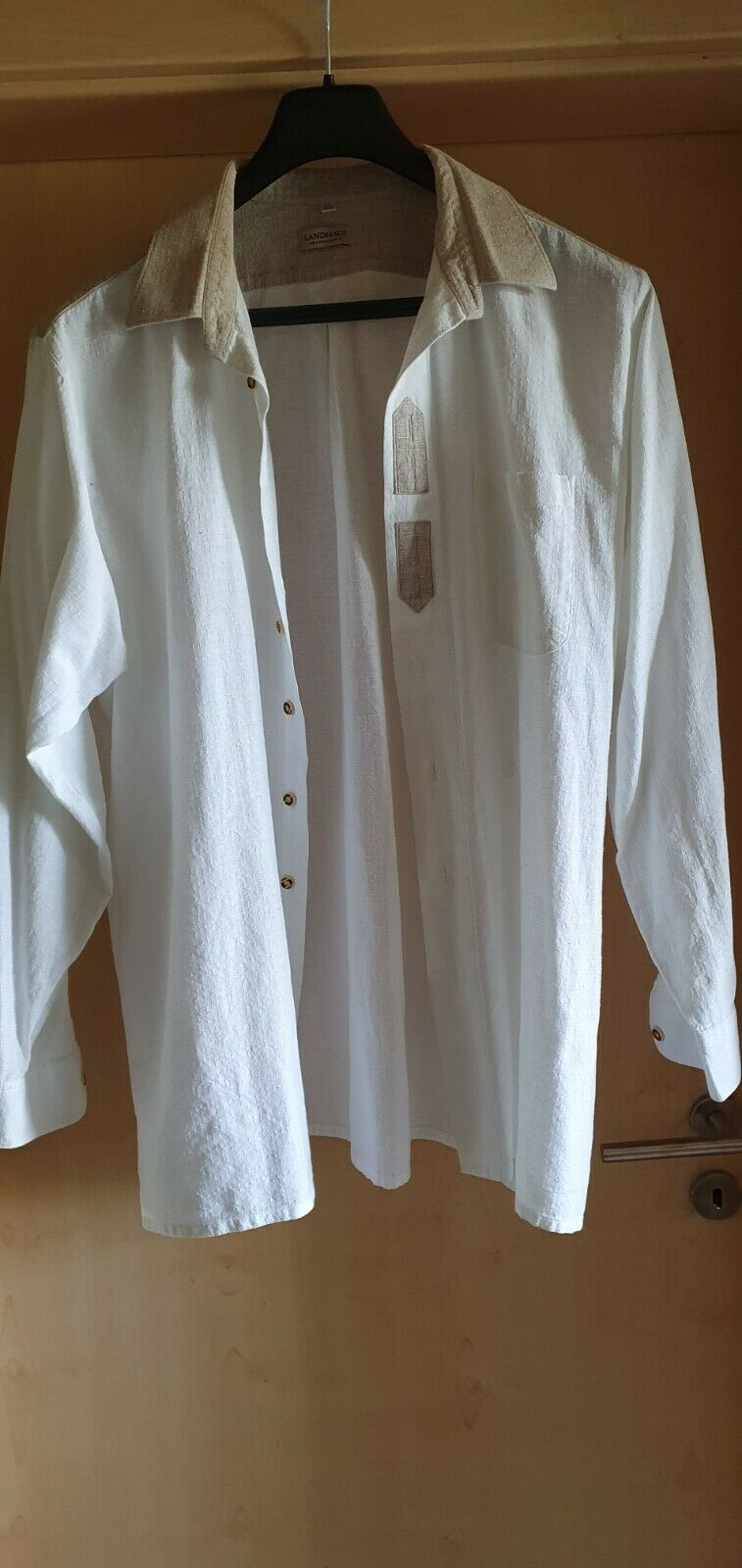--- Shirt in Traditional Style Cottage Size XXL 45/46 ---