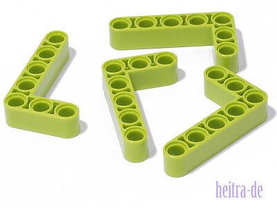 4 x Liftarm dick 3x5 90 Grad dunkelblau 32526 NEUWARE LEGO Technik