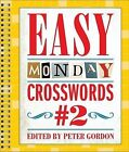 Easy Monday Crosswords #2 by Sterling Publishing Co Inc(Spiral bound)