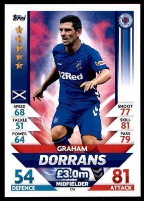 Match Attax spfl 2018//19 Graham Dorrans Rangers no 174