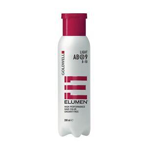 Goldwell Elumen AB@9 Ash Brown 6.7 oz / 200ml works with no peroxide or ammonia