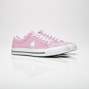 Converse-One-Star-Pink-Shoes-Suede-159492C-Sneakers-Women-Chuck-Taylor-All-Star