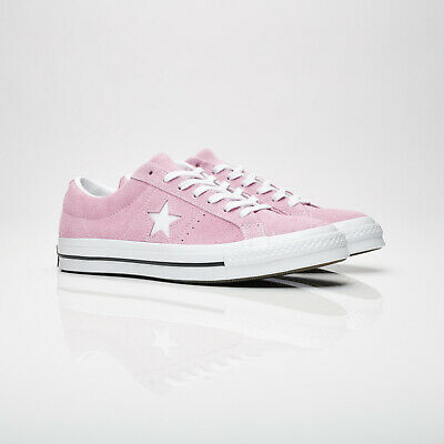 Brand New Pink Suede Converse One Star Shoes