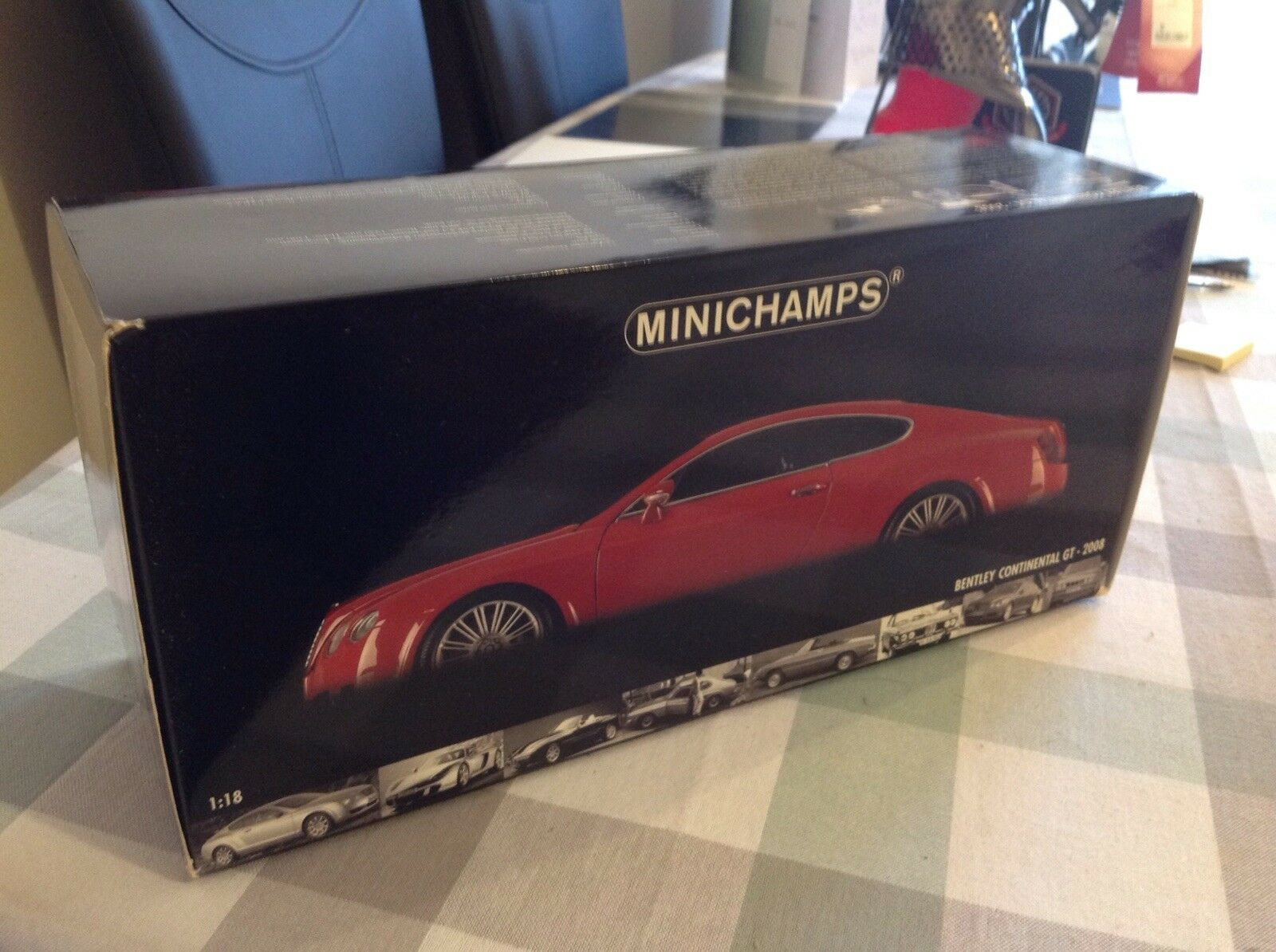 1 18 MINICHAMPS BENTLEY CONTINENTAL GT 2008