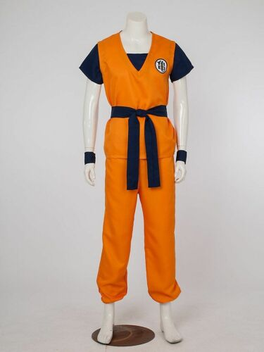 Dragon Ball Z Super Saiyan Goku Son Gokou For Cosplay Costume Halloween Party