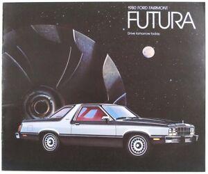 Ford 1980 Fairmont Futura Dealer Sales Brochure