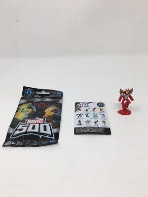 Red /& Silver Marvel 500 Series 8 MARVEL/'S ULTIMATE BEETLE Figure