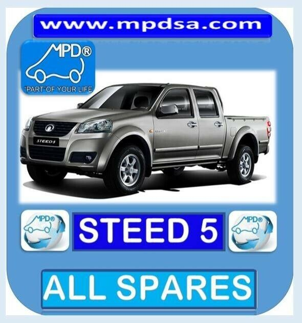 FOR ALL YOUR GWM SPARES BAKKIE AND CAR - CALL US NOW