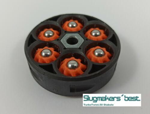Slugmaker´s best Turbo.Twist.50 Slugs for Umarex t4e HDR50 Geschosse cal.50 HOT!