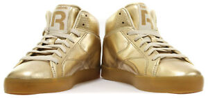 Image is loading Reebok-Classic-T-Raww-Mens-Gold-Trainers 038d3bd29