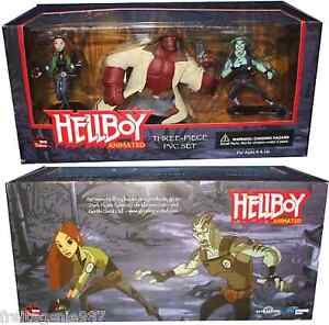 Hellboy-Animated-LIZ-ABE-HELLBOY-box-set-3-PVC-figures