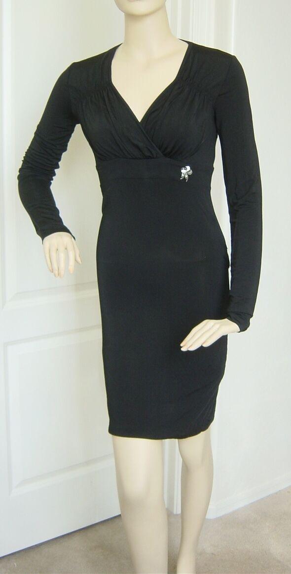 Galliano schwarz Dress (Größe 40)