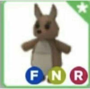 Rare Adopt Me Fnr Neon Kangaroo Roblox Pet Ebay