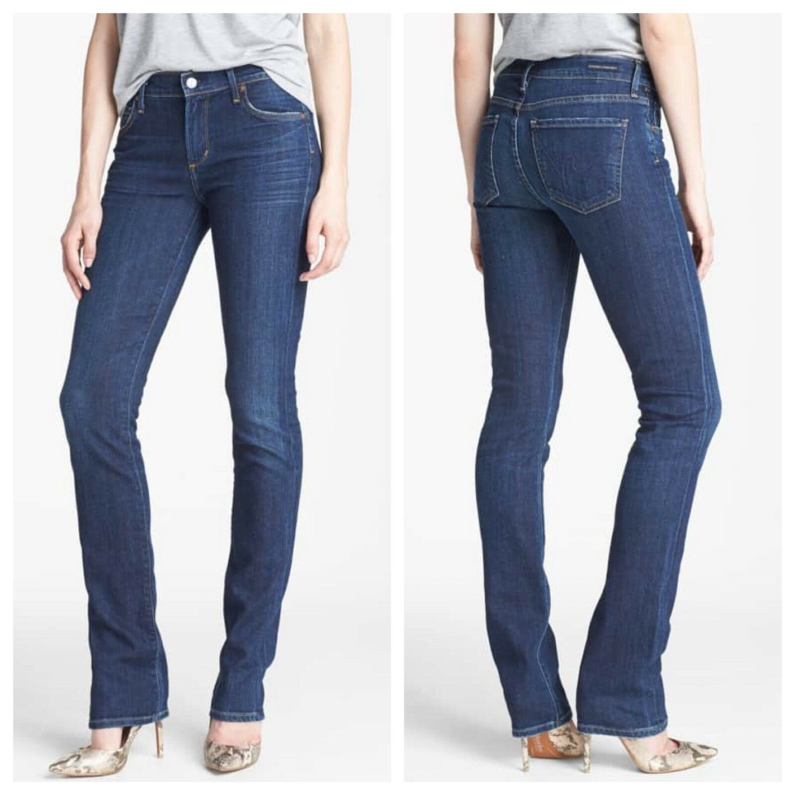 Citizens Of Humanity Elson Midrise Straight Leg Jean 25