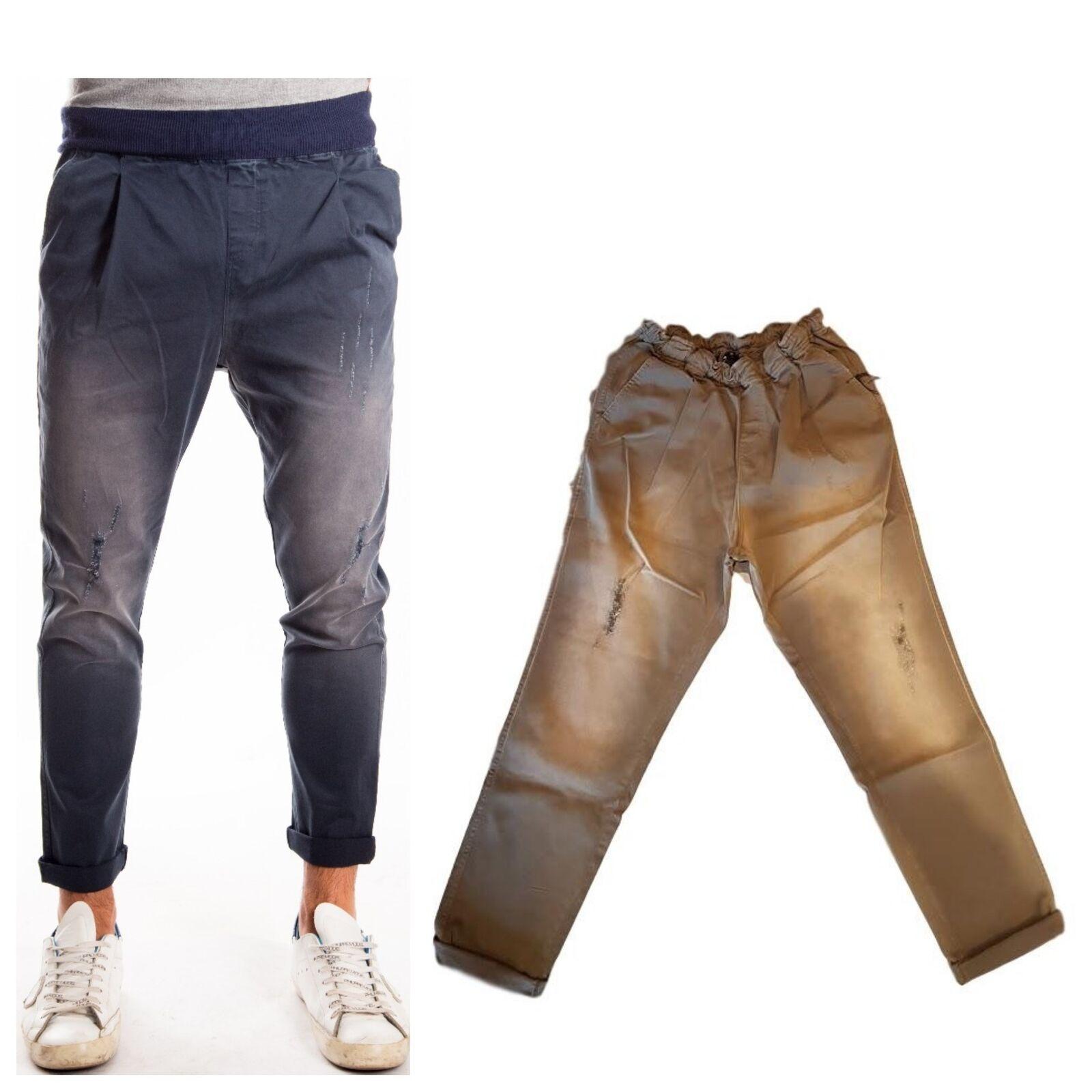 Pantaloni The Kingless Collective men 03 MIL Cavallo Basso Careda MollaPences