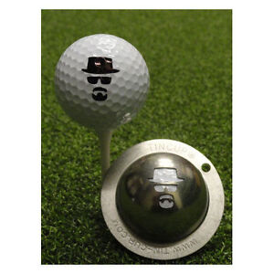 New Tin Cup Incognito Dude Golf Ball Design Marker Template Stencil