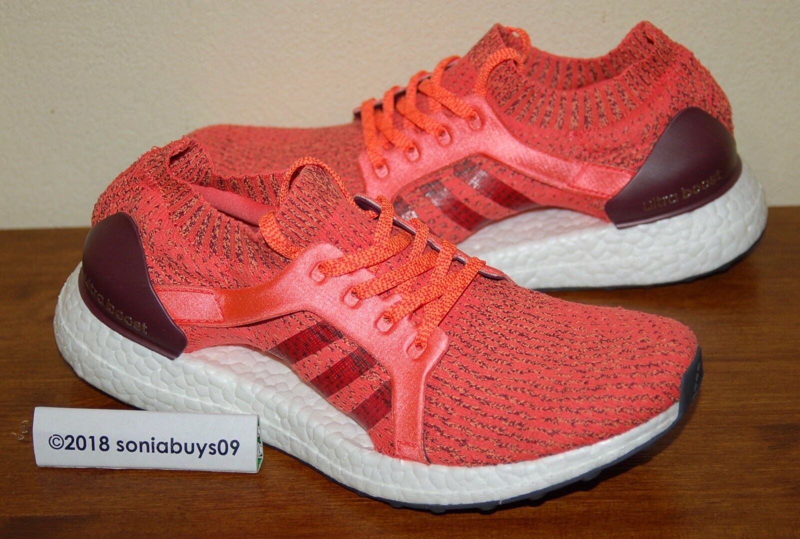 Adidas  Women's UltraBoost X Running shoes, BB1694, Easy Coral, US Size 8.5  we supply the best