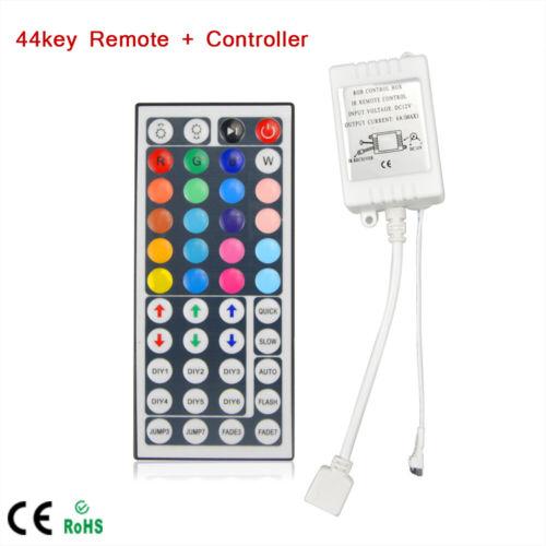 SMD 5050 3528 2835 RGB LED Light strip DC12V 24key//44 IR RF Bluetooth controller