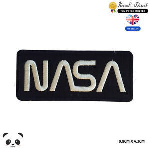 NASA USA Badge Embroidered Iron On Sew On Patch Badge For Clothes Bags etc