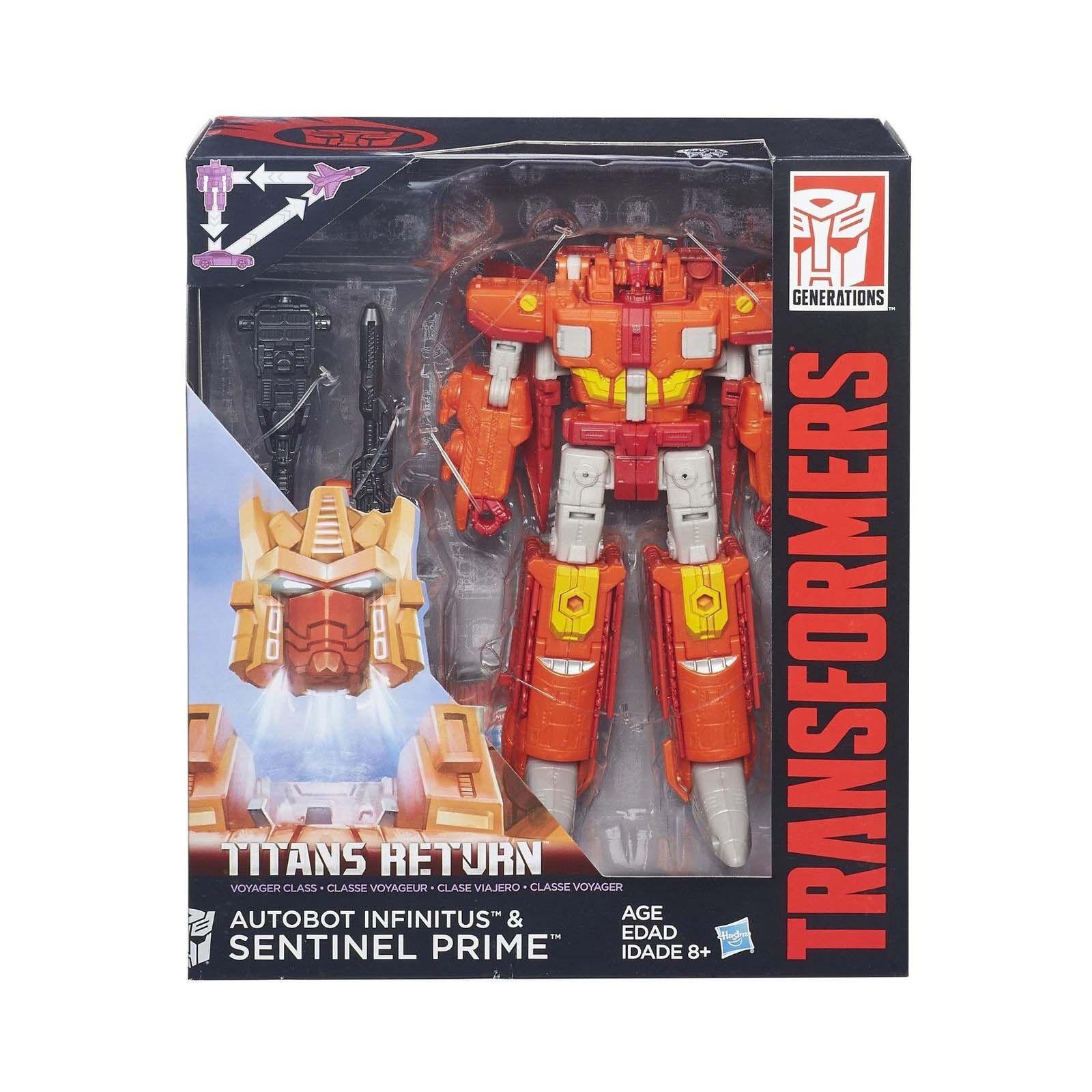 Transformers Générations Voyageur Classe Titans Retournent SENTINEL PRIME