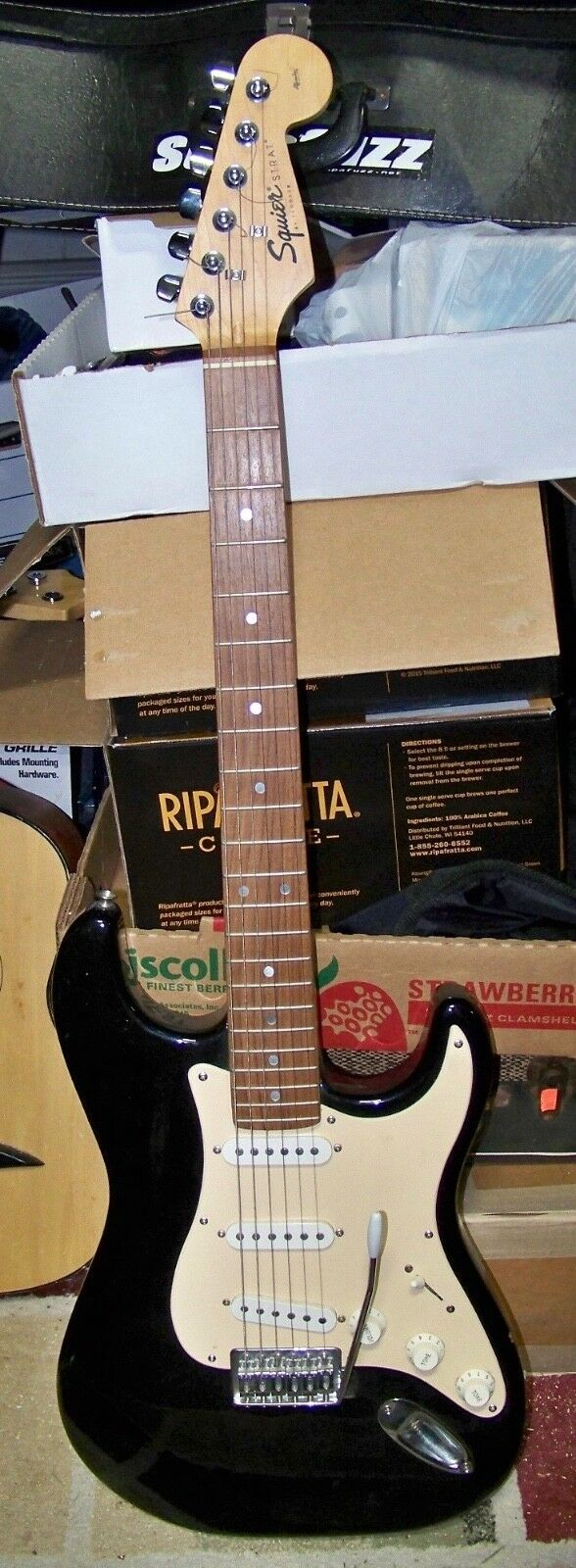 1997 Squier by Fender Stratocaster
