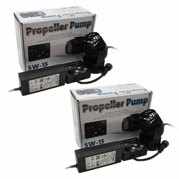 Jebao SW2 Propeller Water Pump Wave Maker with Controller and Magnet Mount