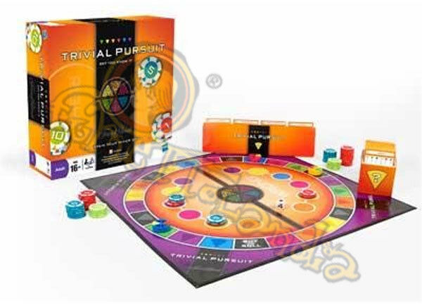 Trivial Pursuit Casino ' Juego de Mesa Hasbro Gaming