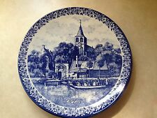 "Made in Holland Delfts Blau 12"" Plate ""De Lente"" Dutch ""Spring"""