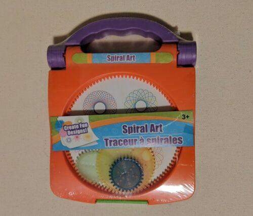 Spiral Art Craft Set Spirograph Stencil Spiral Wheels Compact New