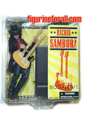 McFarlane Bon Jovi RICHIE SAMBORA 6 Inch Action Figure Brand New Rock Band