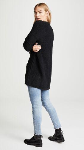 Wool Nwt Open Front Phantom Long 148 Xs Blend Sort People Gratis 2018 Cardigan ATyw0xZqq