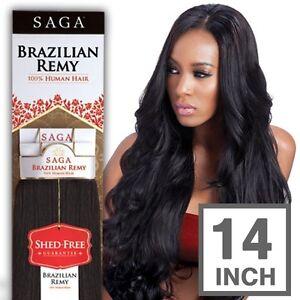 100 Milky Way Saga Brazilian Remy Human Hair Weave Yaky