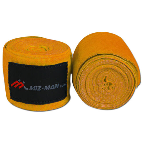 Boxing Hand Wraps Bandages MMA Muay Thai Punch Pad Gel Inner Gloves Stretch 4.5m