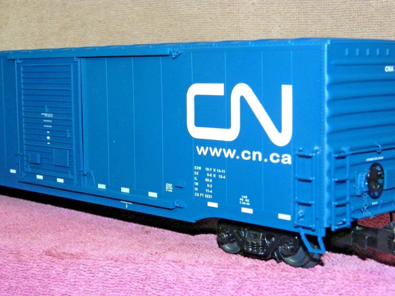 Lionel Escala nacional canadiense 60ft sola puerta Moderno Coche De Caja Nuevo En Caja