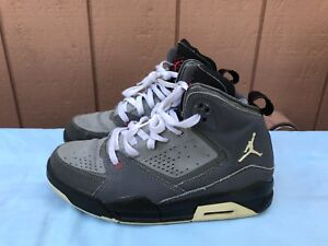 best service e1f37 eb0aa Image is loading Nike-Air-Jordan-SC-2-GS-Youth-Gray-