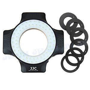 UNIVERSALE LED flash macro luce ad anello per obiettivo della fotocamera, Adattatore filettatura del filtro 6pcs
