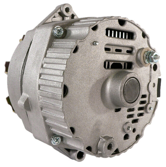 New Alternator Fits Gm Delco 5  8 Pulley 1 One Wire 10si