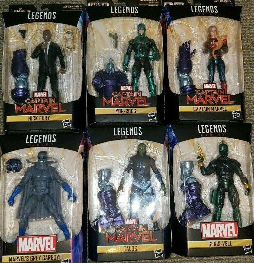 Marvel Legends Capitaine Marvel Kree Sentry BAF