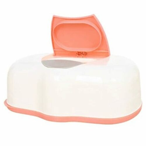 4 Color Dry /& Wet Tissue Paper Case Care Baby Wipes Napkin Storage Box Holder