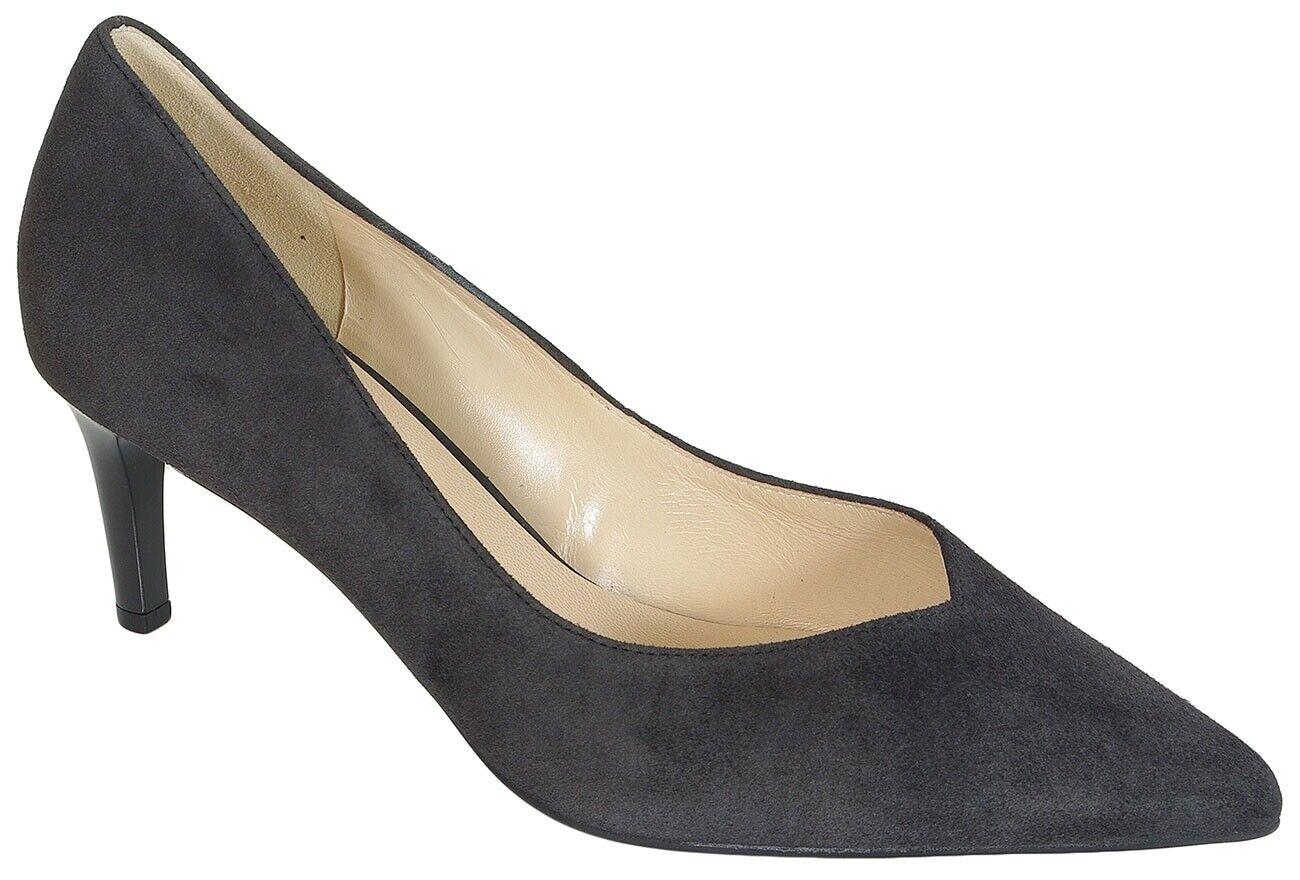 rotuzierung Hogl 6722 Boulevard 60 Samtkid pumps heels darkgrau