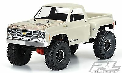 Proline Racing - 1978 Chevy Chevy Chevy K-10 chiaro corpo (Cab & Bed) for 12.3  Scale Crawler b7387d