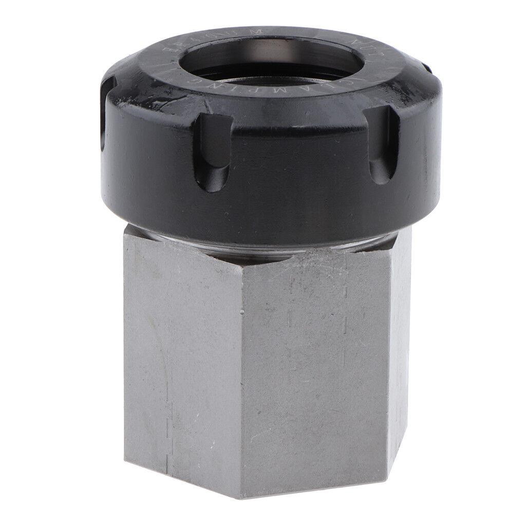 Spannzangenfutter Spannzange Quadrat     Hex schwarz mit Silber | Viele Stile  | Einfach zu spielen, freies Leben  | Neuankömmling  | Neuer Eintrag  f25f83