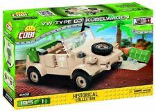 COBI VW Kübelwagen Konstruktionsbausteine WW2 Spielzeug Figur Fahrzeug 150 Teile
