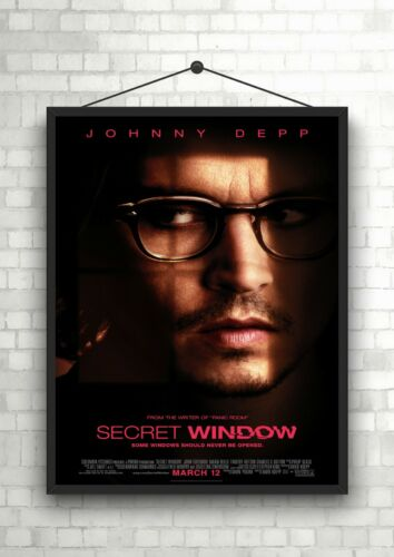 Secret Window Johnny Depp Large Movie Poster Art Print A0 A1 A2 A3 A4 Maxi
