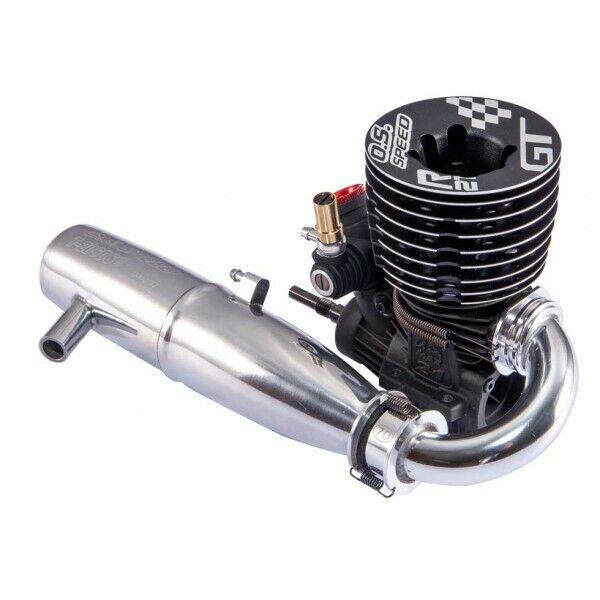 O.s velocidad R21GT 1 8th Tubo De Motor Nitro Gt con T-2060SC Set 1CC01