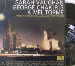 SARAH-VAUGHAN-MEL-TORME-amp-GEORGE-CHAKIRIS-VINYL-LP
