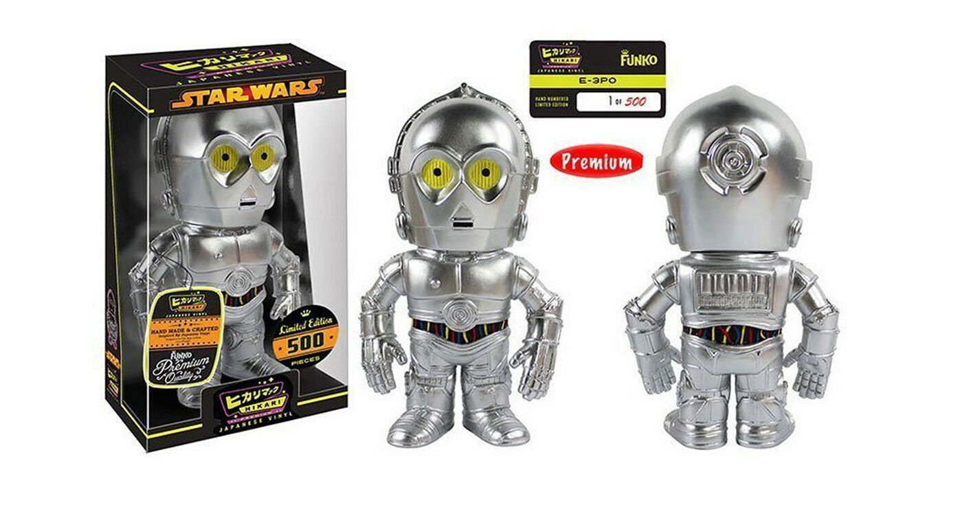 Hikari Japanese Vinyl Star Wars E-3PO Sofubi Vinyl Figure ltd edt 500 ww